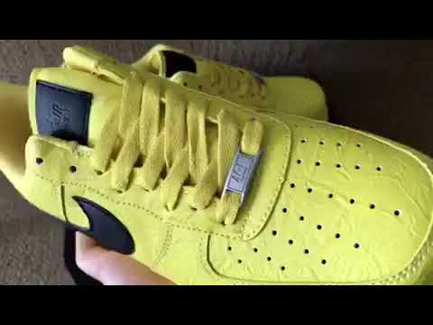ba3938351 Nike air force 1 x the north face x supreme yellow (mksole.cn) - YouTube