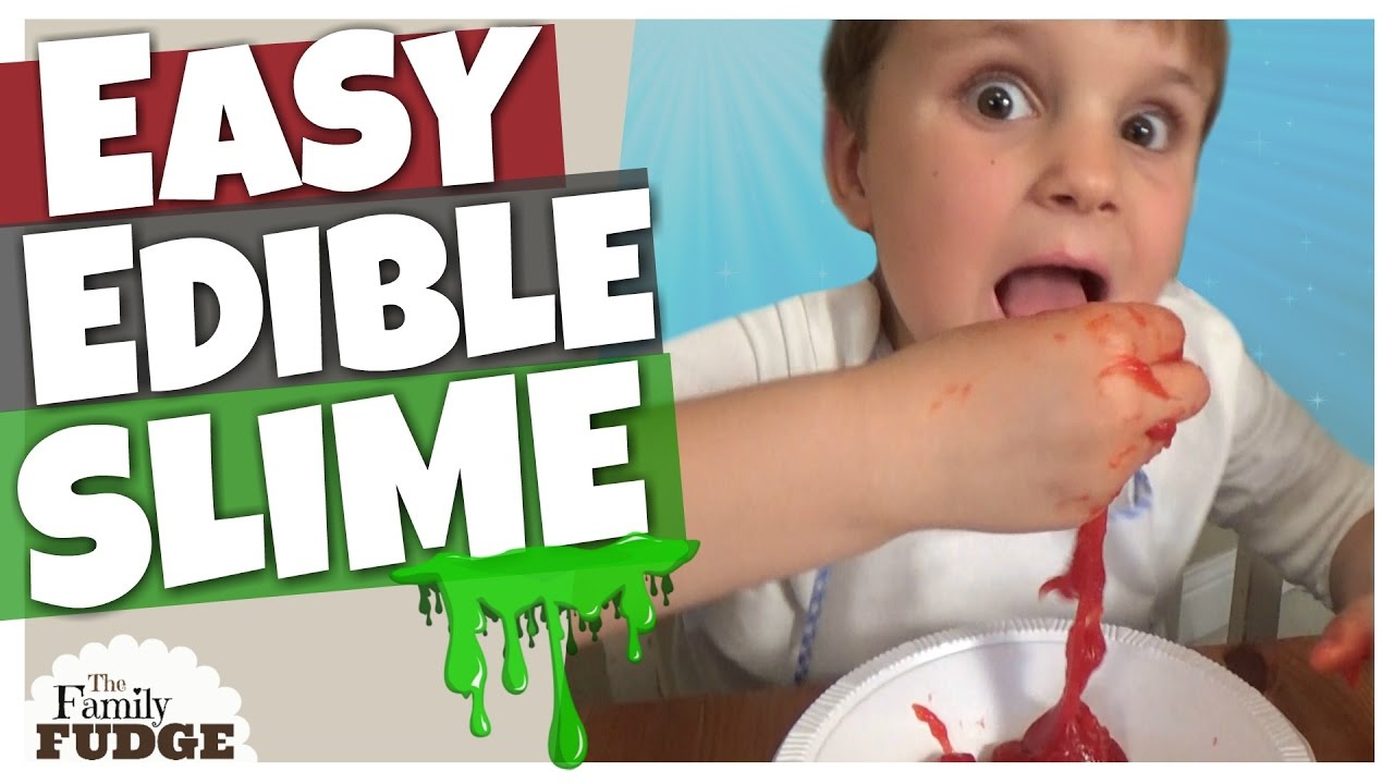 Diy Slime You Can Eat Edible Slime Without Borax Or Glue!