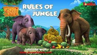 Rules of Jungle | English Stories । जंगल बुक | पॉवरकिड्स