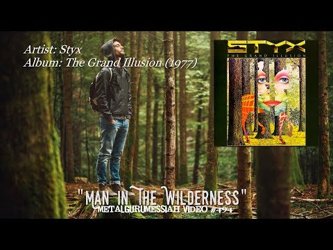 Man In The Wilderness - Styx (1977) Audio Fidelity 24k Gold FLAC 4K Video
