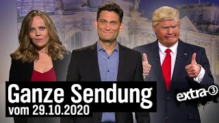 Extra 3 vom 29.10.2020 mit Christian Ehring