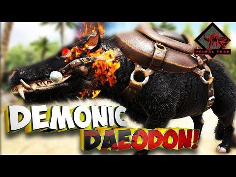 Приручаем Demonic и Celestial дино!  - Ark Survival Evolved Primal Fear #7
