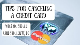 Canceling a Credit CardDon't Lose Your Points!