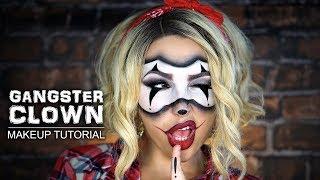 Gangster Clown | Halloween Makeup Tutorial