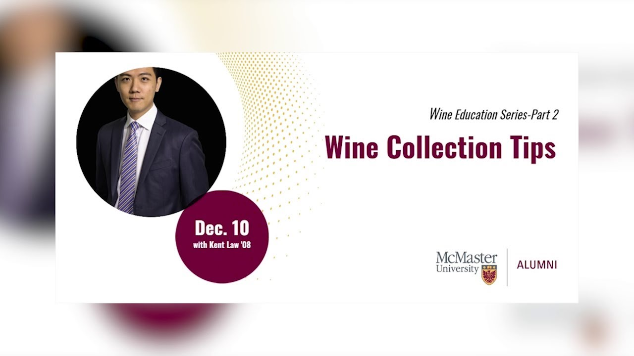 Image for Wine Collection Tips with Kent Law webinar