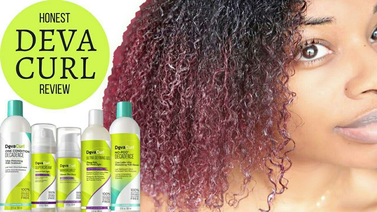 DEVA CURL REVIEW WASH DAY YouTube