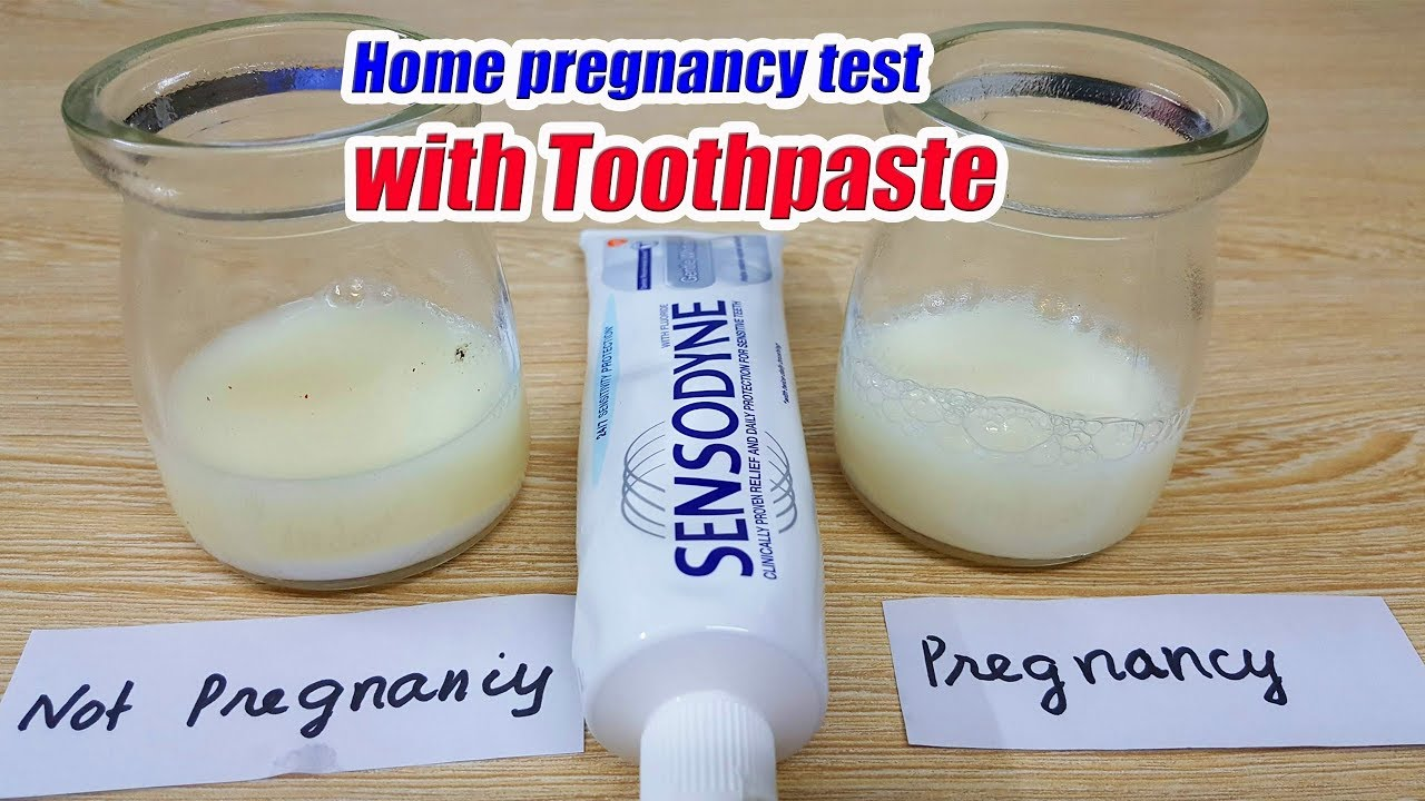 Pregnancy Test With Toothpaste Accuracy At Home How To Do