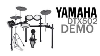 Yamaha DTX502 Series - In Depth Demo