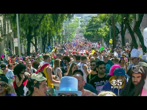 Sun Shines On The Madness As Bay to Breakers Takes Over SF Streets