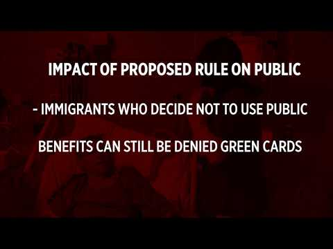 White House proposal could crack down on green card-holders with public benefits