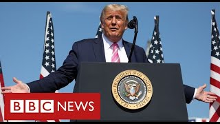 Georgia among key battleground states for Trump and Biden as US election approaches - BBC News