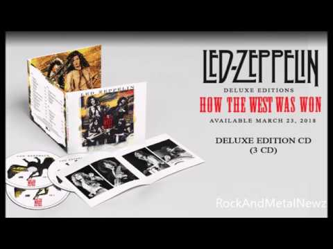 Led Zeppelin reissues live box set How The West Was Won - Bullet new album is Dust to Gold!