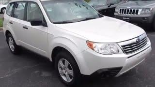 видео Subaru Forester 2010