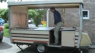 Folding caravan (not trailer tent)
