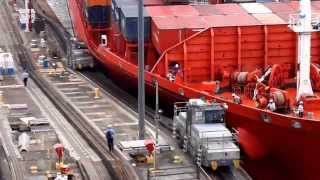 Panama Canal Ship Accident 2014 - All rights reserved thumbnail
