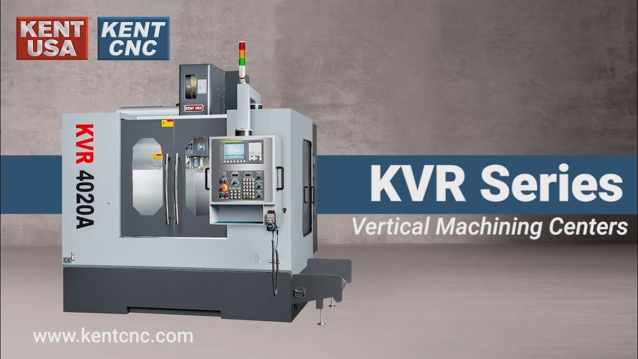 Buy KVR-3618A CNC Bed Mills and Machining Centers - Kent