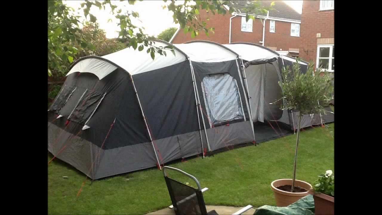 Sprayway Canyon 8 + 2 Tent & Sprayway Canyon 8 + 2 Tent - YouTube