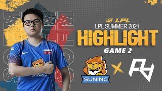 [ Highlights SN vs RA - GAME 2 ] LEESIN CÓ TƯỚNG TỦ SOFM - HUANFENG OUTPLAY XUẤT SẮC