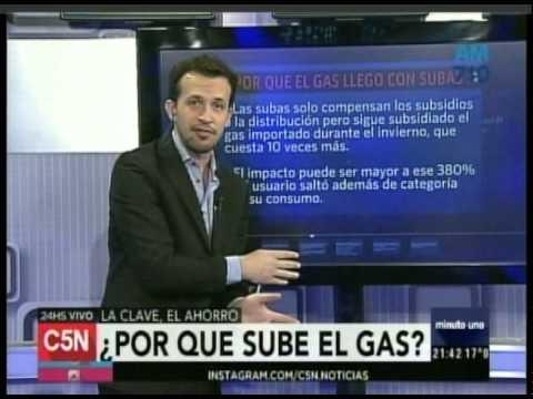 C5N -  Minuto Uno: Por qué sube el gas