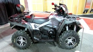 2013 Cfmoto Terralander 800 Utility ATV - 2012 Salon National du Quad - Laval, Quebec