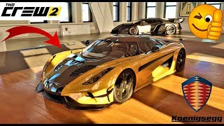 The Crew 2 Custom Regera + test complet
