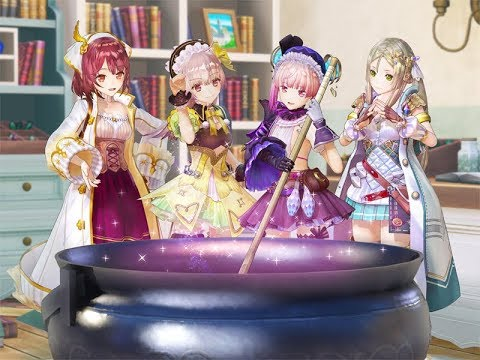 World Maps of the Atelier Mysterious Trilogy