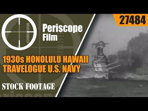 1930s HONOLULU HAWAII TRAVELOGUEU.S. NAVY27484