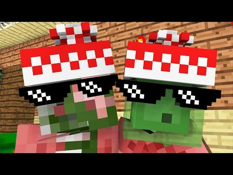 Monster School: New Presents for Christmas -- Cubic Minecraft Animation
