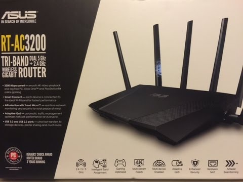 ASUS RT-AC3200 REVIEW UPDATE