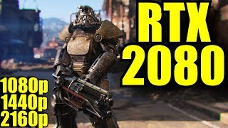 Fallout 4 RTX 2080 OC | 1080p - 1440p - 2160p | FRAME-RATE TEST