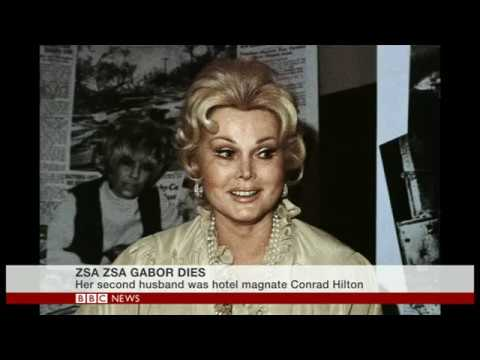 Jeanne Wolf Remembers Zsa Zsa Gabor On BBC
