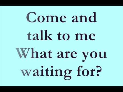 Keri Noble - Talk To Me - Lyrics