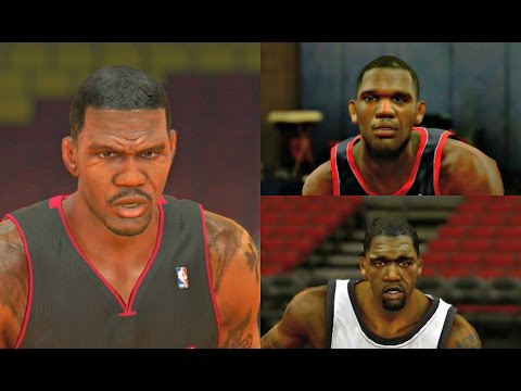 Greg Oden Player Progression from NBA 2K8 to NBA 2K14! #PS4
