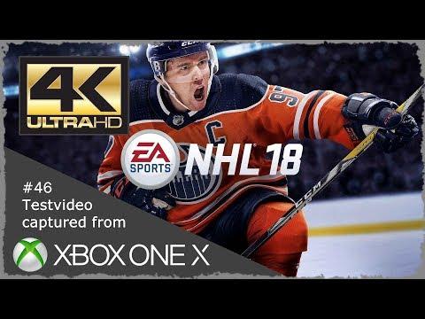 4K NHL ™ 18 Testvideo Xbox One X 🎬