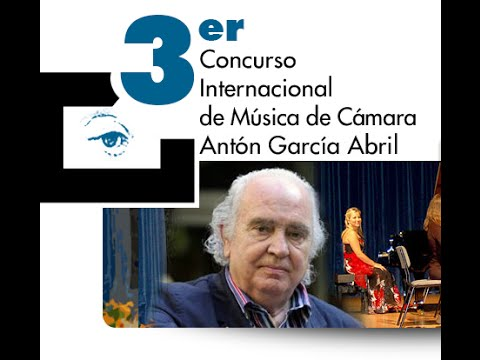 Entrega de premios del Concurso Internacional de Música de Cámara Antón García Abril