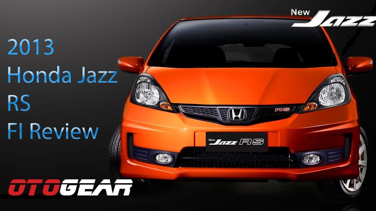 2013 honda jazz rs fi review - youtube