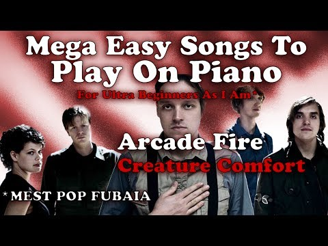 Arcade Fire - Creature Comfort (Easy Chords To Play on A Piano - Tutorial)