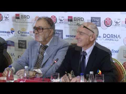 Conferinţă de presă - BRD Năstase Ţiriac Trophy