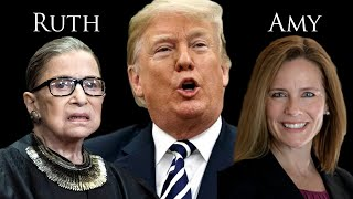 Will TRUMP Replace Ruth GINSBURG with Amy Coney BARRETT?