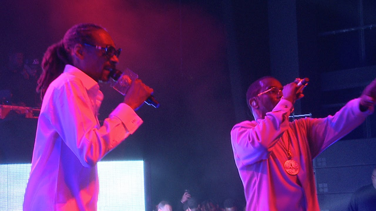 Diddy & Snoop All Star Show w/ Dr  Dre, Kanye, Nas, Lil Kim, The Lox and  more