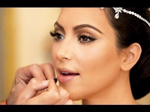 Kim Kardashian Maquillaje De Novia Bridal Makeup YouTube