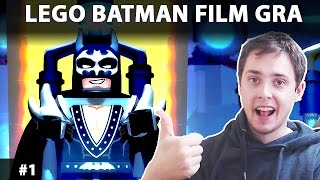 LEGO BATMAN FILM GRA 2017 - LEGO BATMAN MOVIE GAME PO POLSKU