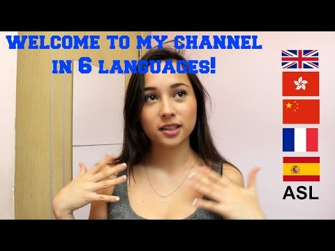 J Lou Speaking SIX LANGUAGES | Channel Trailer