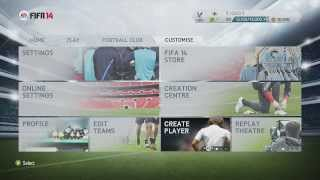 How to get the new lionel messi football boots in fifa 14! ( adidas adizero f50)