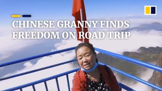 Chinese granny finds freedom on road trip
