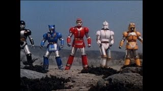 Mighty Morphin Alien Rangers - Battle Borgs Zords | Power Rangers