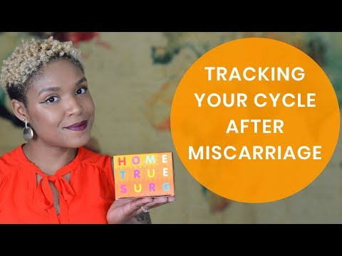 HOW TO TRACK YOUR CYCLE AFTER MISCARRIAGE || 3 SIMPLE STEPS