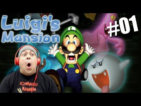 THE HOMIE LUIGI IS BACK! AND HE BROUGHT HIS MIXTAPE! [LUIGI'S MANSION] [#01]