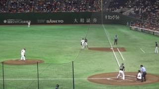 2016年8月16日イースタンリーグ 巨人vsヤクルト(東京ドーム) 杉内俊哉...