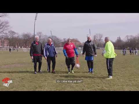 Motionsfodboldspilleren der elsker klublivet